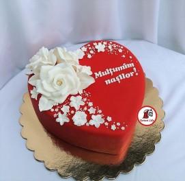 tort inima rosie 2
